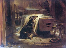 Landseer | The Old Shepherd's Chief Mourner, 1837 | Giclée Canvas Print