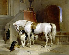 Landseer | Favourites, the Property of H.R.H. Prince George of Cambridge | Giclée Canvas Print