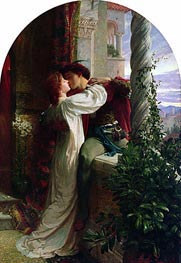 Frank Dicksee | Romeo and Juliet, 1884 | Giclée Canvas Print