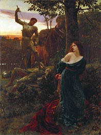 Frank Dicksee | Chivalry, 1885 | Giclée Canvas Print