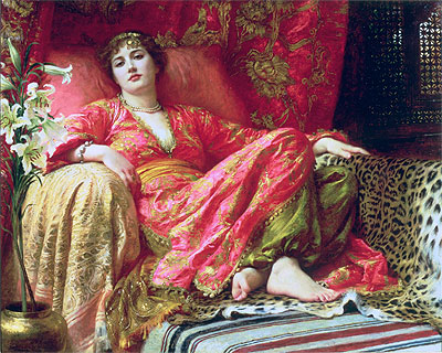 Leila (Passion), 1892   Frank Dicksee   Painting Reproduction