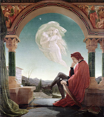 Dante's Dream, from the 'Divine Comedy', undated | Joseph Noel Paton | Giclée Canvas Print