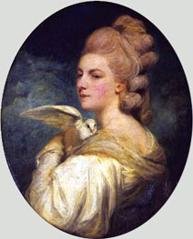 Reynolds | Mrs Mary Nesbitt | Giclée Canvas Print