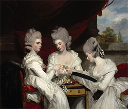 Reynolds | The Ladies Waldegrave | Giclée Canvas Print