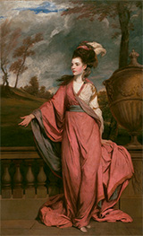 Reynolds | Jane Fleming, later Countess of Harrington | Giclée Canvas Print