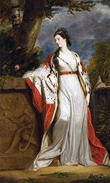 Reynolds | Elizabeth Gunning, Duchess of Hamilton and Argyll | Giclée Canvas Print