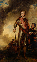 Reynolds | Charles Stanhope, third Earl of Harrington, and a Servant | Giclée Canvas Print