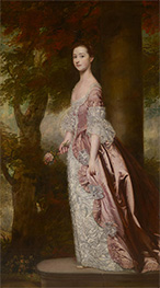 Reynolds | Miss Susanna Gale, c.1763/64 | Giclée Canvas Print