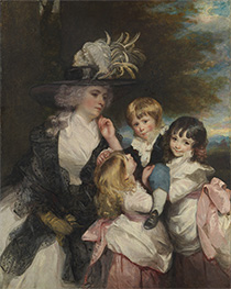 Reynolds | Lady Smith and Her Children | Giclée Canvas Print