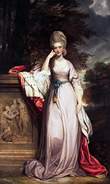 Reynolds | Anne, Viscountess Townsend, Later Marchioness Townshend | Giclée Canvas Print