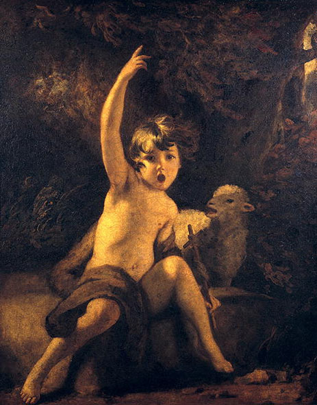 St John the Baptist in the Wilderness, c.1776 | Reynolds | Painting Reproduction