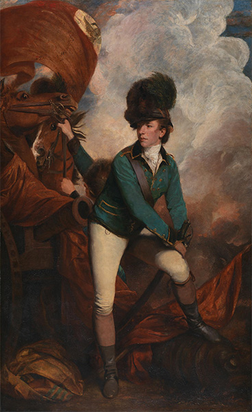 Reynolds | Colonel Tarleton, 1782 | Giclée Canvas Print