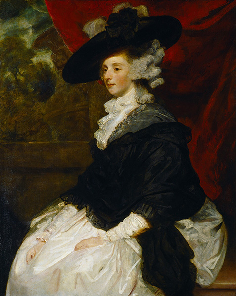 Lady Cornewall, c.1785/86 | Reynolds | Giclée Canvas Print