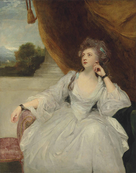 Portrait of Elizabeth Falconer, Undated | Reynolds | Painting Reproduction