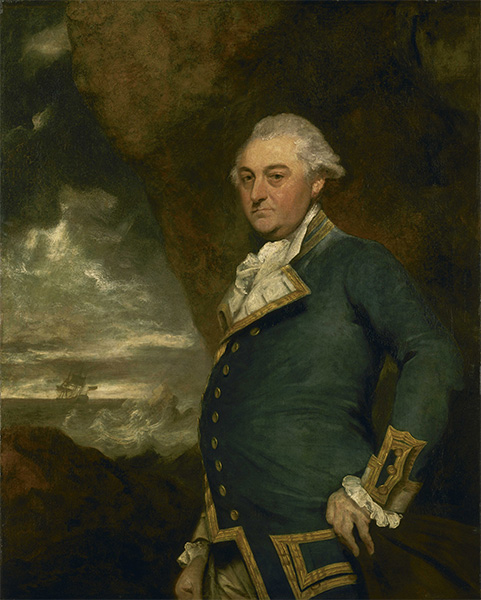 Captain John Gell, 1786 | Reynolds | Giclée Canvas Print