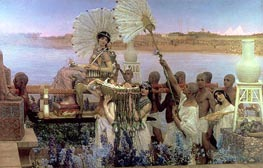 Alma-Tadema | The Finding of Moses | Giclée Canvas Print