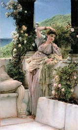 Alma-Tadema | Rose of All Roses | Giclée Canvas Print