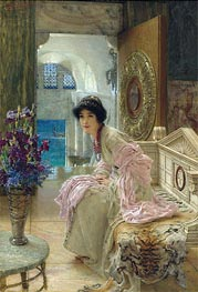 Alma-Tadema | Watching and Waiting, Undated | Giclée Canvas Print