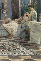 Alma-Tadema | From an Absent One | Giclée Paper Print