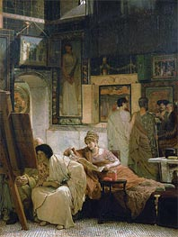 Alma-Tadema | A Picture Gallery, Undated | Giclée Canvas Print