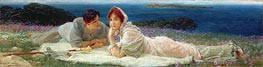 Alma-Tadema | A World of Their Own, 1905 | Giclée Canvas Print
