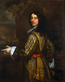 Peter Lely | Flagmen of Lowestoft: Admiral Sir John Harman, 1666 | Giclée Canvas Print