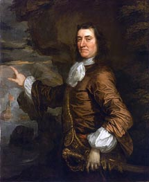 Peter Lely | Flagmen of Lowestoft: Admiral Sir Thomas Allin, 1665 | Giclée Canvas Print