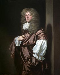 Peter Lely | Portrait of Sir Thomas Thynne, later 1st Viscount Weymouth, c.1675 | Giclée Canvas Print