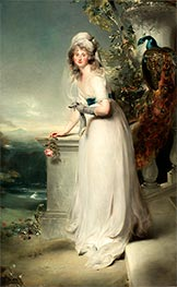 Thomas Lawrence | Portrait of Catherine Grey, Lady Manners, 1794 | Giclée Canvas Print