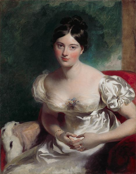 Margaret, Countess of Blessington, 1822 | Thomas Lawrence | Painting Reproduction