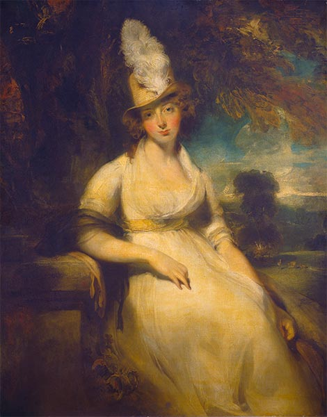 Mrs. Robert Blencowe, c.1792 | Thomas Lawrence | Painting Reproduction