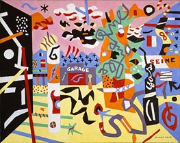 Stuart Davis | Report from Rockport, 1940 | Giclée Canvas Print