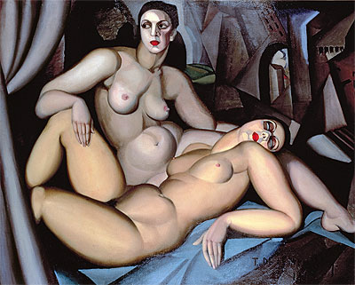 Perspective, 1923 | Lempicka | Painting Reproduction