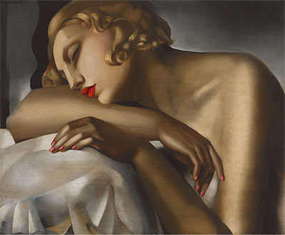 The Sleeping Girl, 1930 | Lempicka | Giclée Canvas Print