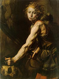 Tanzio da Varallo | David with the Head of Goliath, c.1625 | Giclée Canvas Print