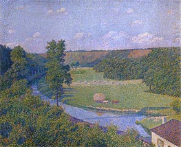 Rysselberghe | The Valley of the Sambre, b.1926 | Giclée Canvas Print