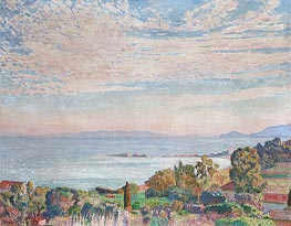 Rysselberghe | Saint Clair Bay, 1923 | Giclée Canvas Print