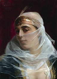 Theodore Jacques Ralli | Turkish Woman, undated | Giclée Canvas Print