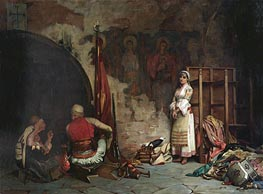 Theodore Jacques Ralli | The Captive (Turkish Plunder), 1885 | Giclée Canvas Print