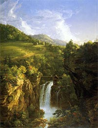 Thomas Cole | Genesee Scenery (Poop) | Giclée Canvas Print