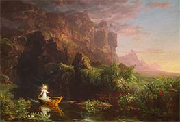 Thomas Cole | Voyage of Life - Childhood, 1842 | Giclée Canvas Print