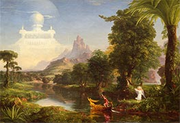 Thomas Cole | Voyage of Life - Youth, 1842 | Giclée Canvas Print