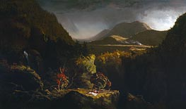 Thomas Cole | Landscape with Figures (The Last of the Mohicans) | Giclée Canvas Print