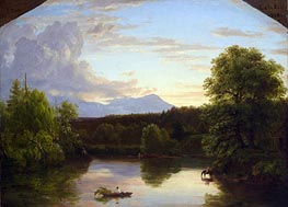 Thomas Cole | North Mountain and Catskill Creek | Giclée Canvas Print