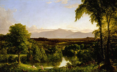 View on the Catskill (Early Autumn Overall), c.1836/37 | Thomas Cole | Giclée Canvas Print