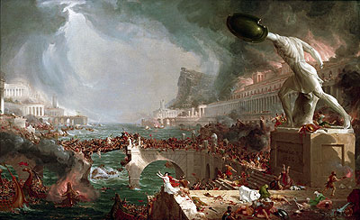 Course of Empire - Destruction, 1836 | Thomas Cole | Giclée Canvas Print