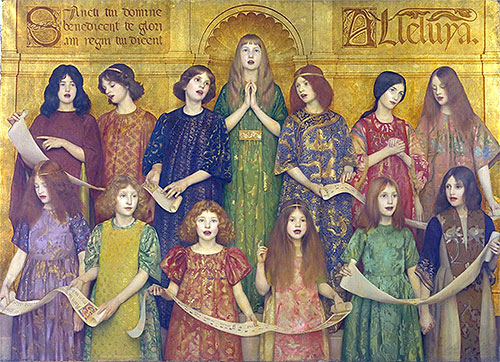 Alleluia, 1896 | Thomas Gotch | Giclée Canvas Print