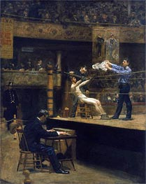 Thomas Eakins | Between Rounds | Giclée Canvas Print