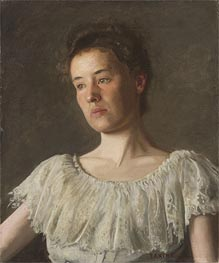 Thomas Eakins | Portrait of Miss Alice Kurtz | Giclée Canvas Print