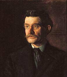 Thomas Eakins | Portrait of Thomas J. Eagan, 1907 | Giclée Canvas Print